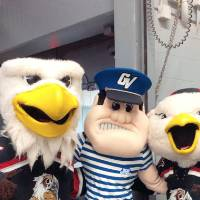 louie and griffins mascots